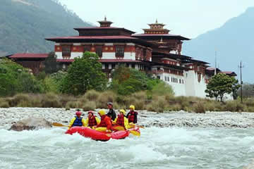 Water Rafting Tours